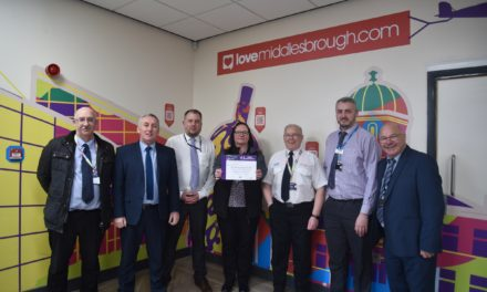 Middlesbrough Bus Station receives national recognition for safety