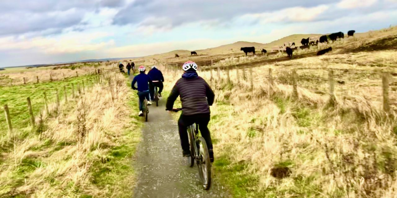 Mental health inpatients get on their bikes