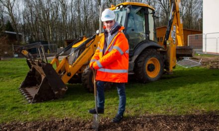 Local contractors resume multi-million-pound investment programme at Northumberland College