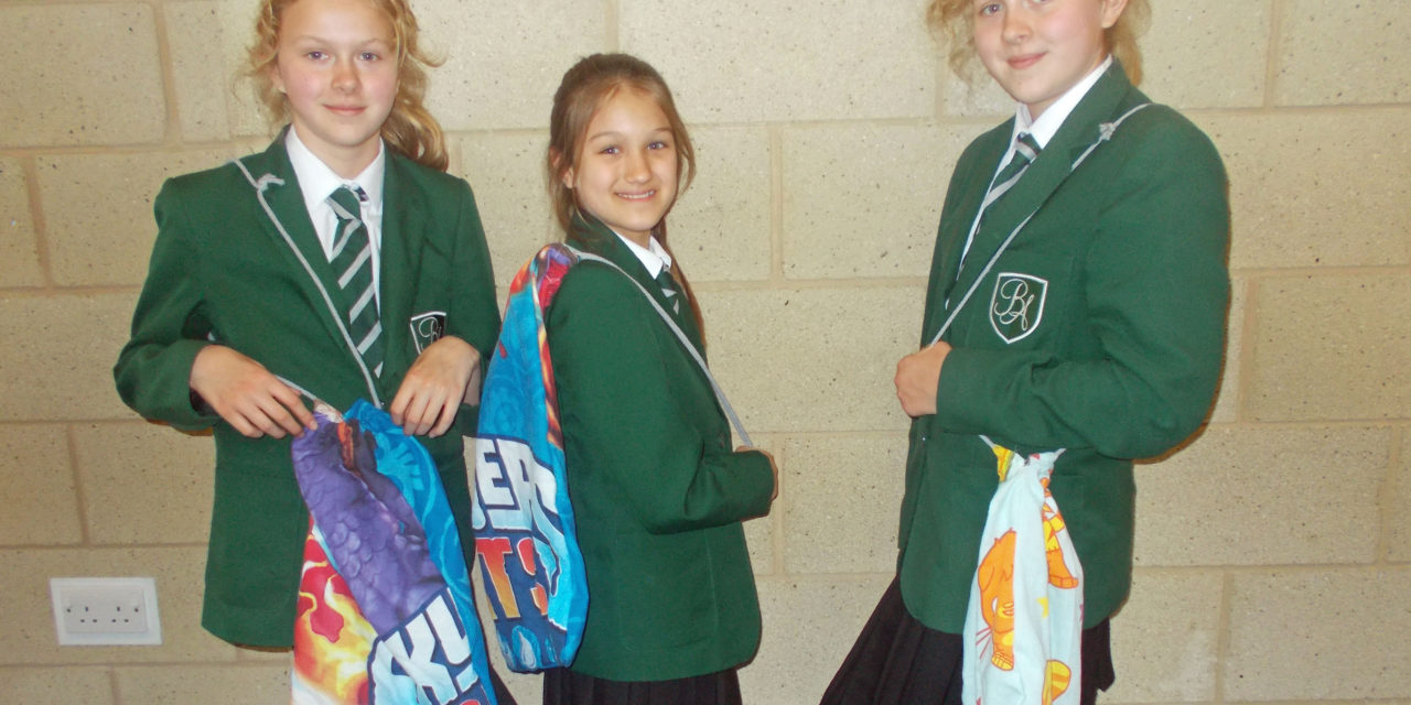 Students at Bede Academy have PPE sewn up