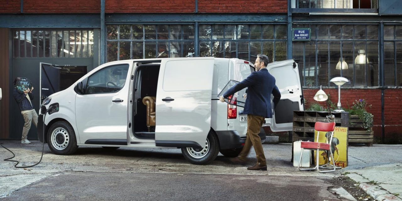 NEW CITROËN Ë-DISPATCH: UNLIMITED POSSIBILITIES IN 100% ËLECTRIC MODE