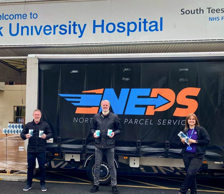 Football Legends Deliver James Cook University Hospital's Frontline Heroes with Hydrating Endurance