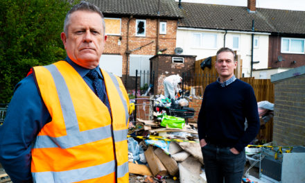 MAYOR JOINS HOUSING PROVIDER TO CONDEMN FLY-TIPPING
