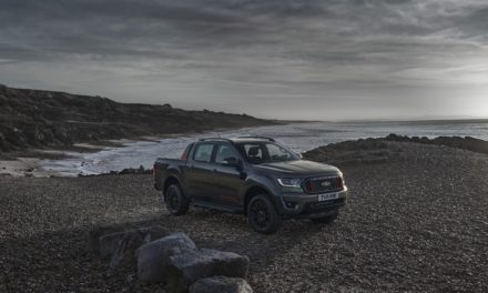 NEW FORD RANGER THUNDER STORMS INTO EUROPE