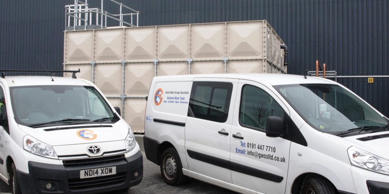 NEL Splashes Out With £30,000 Investment In Water Tank Installation Specialist GWSS