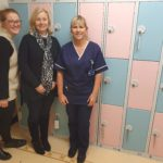 NEOANGELS FLY IN WITH NEW HOSPITAL LOCKERS THANKS TO £2,630 NEWCASTLE BUILDING SOCIETY GRANT