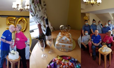 Hartlepool care home couple celebrate 50 years together