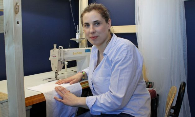 Seamstress has PPE sewn up