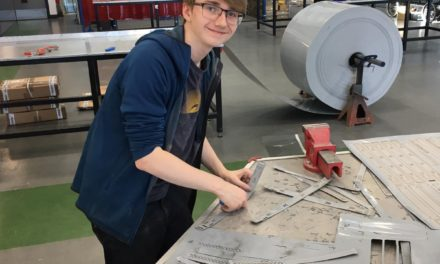 UTC Students Help to Make 3200 PPE Visors for Key Workers