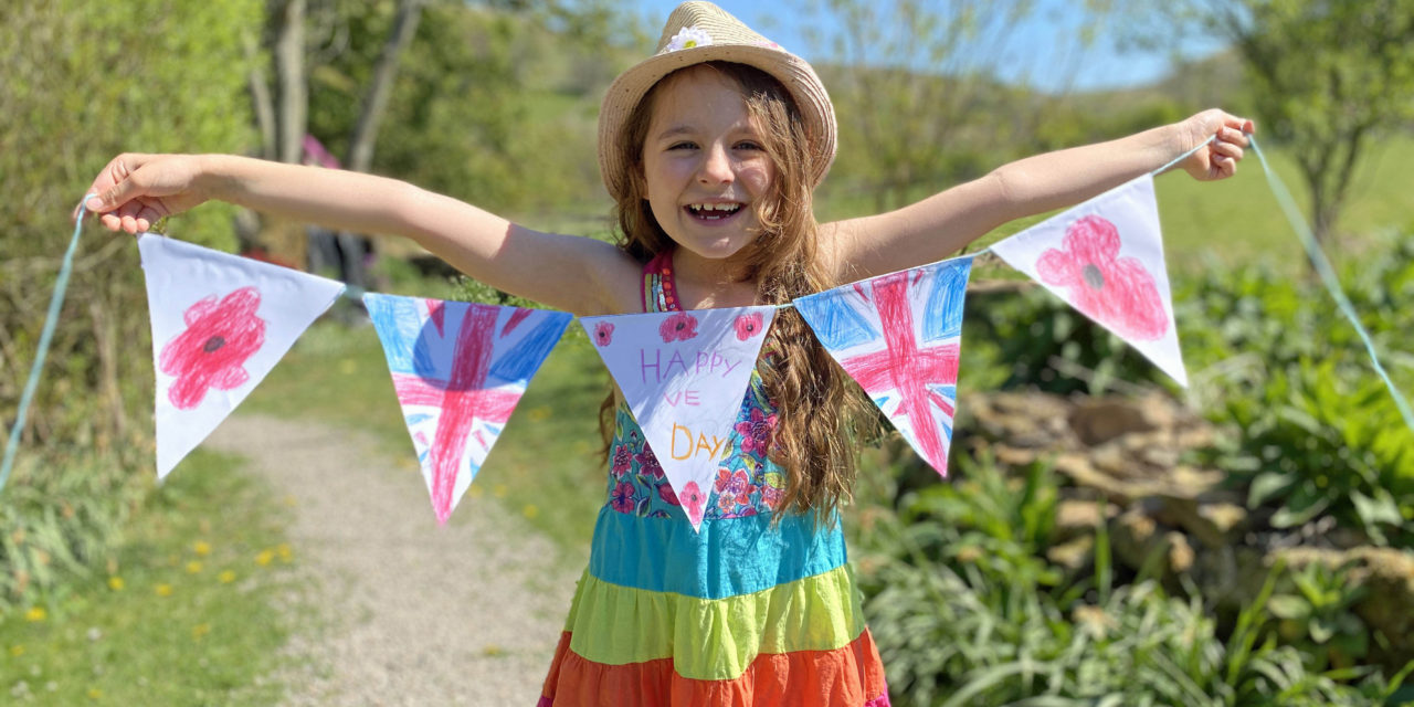 Bringing out the bunting for VE Day celebrations