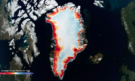 NASA Space Laser Missions Map 16 Years of Ice Sheet Loss