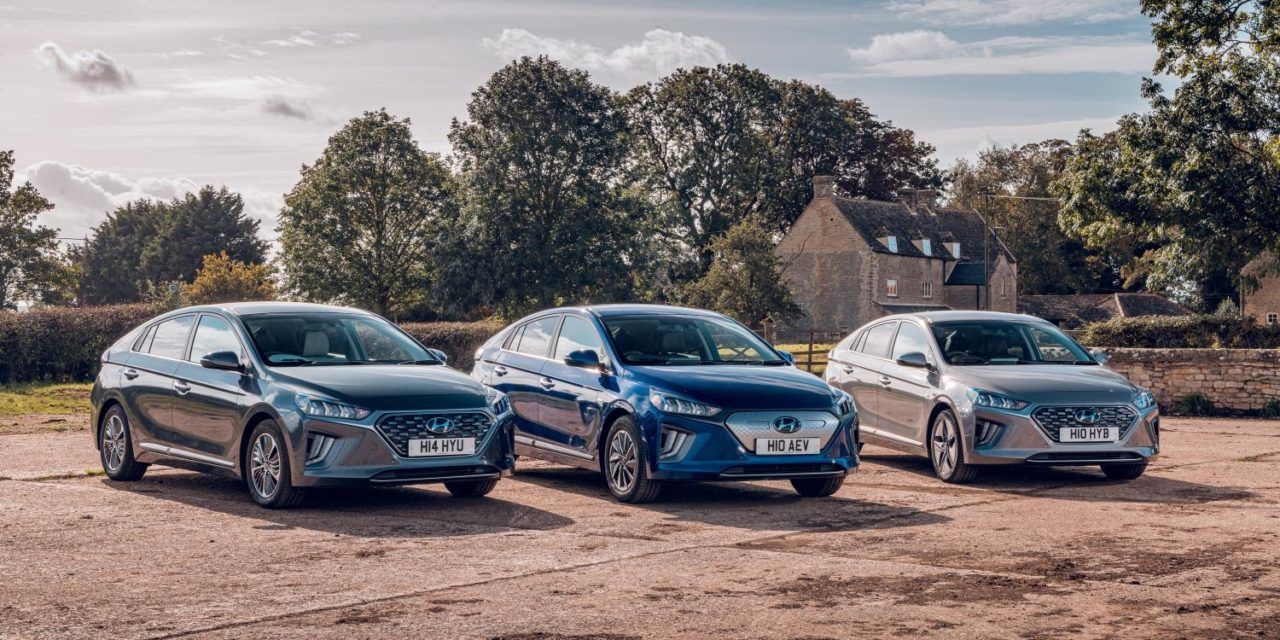 HYUNDAI IONIQ NAMED UK'S MOST HIGHLY RATED CAR