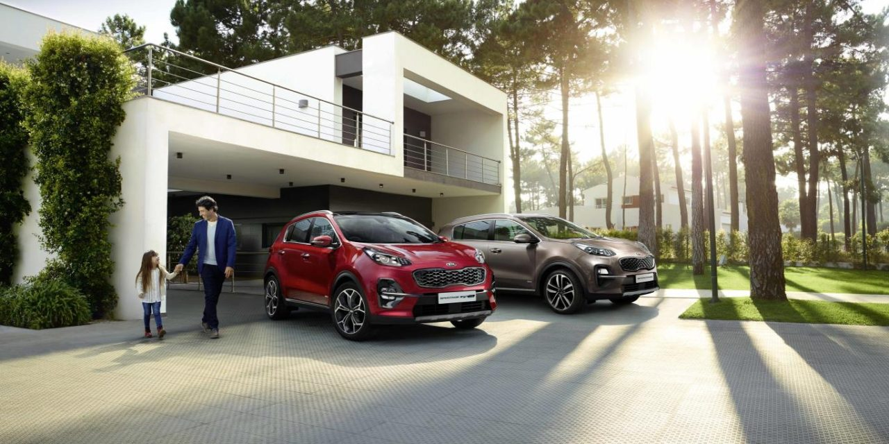 KIA UPDATES SPORTAGE RANGE READY FOR THE SUMMER