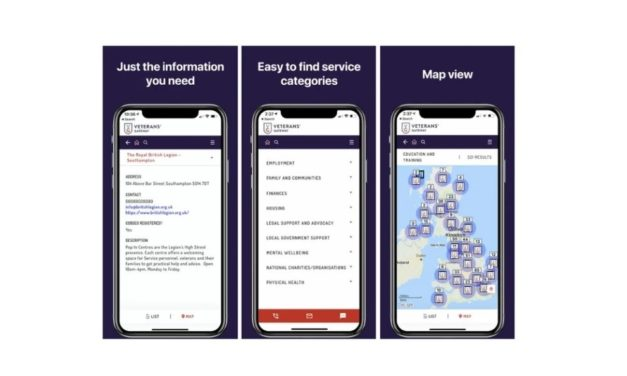 New app boosts support for armed forces community