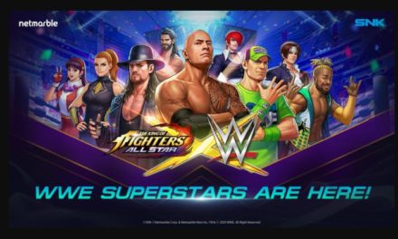 WWE SUPERSTARS TO BE FEATURED IN THE KING OF FIGHTERS ALLSTAR IN ALL-NEW CROSSOVER
