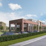 Construction resumes on new Bellway HQ at AirView Park…
