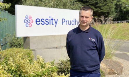 Essity appoints new trainer to lead award winning apprenticeship scheme in Northumberland