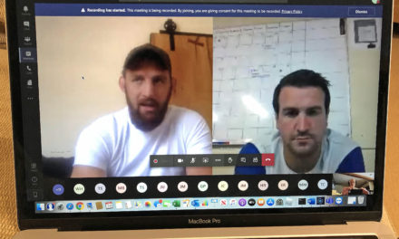 Professional stages online chat to inspire rugby players at Barnard Castle School