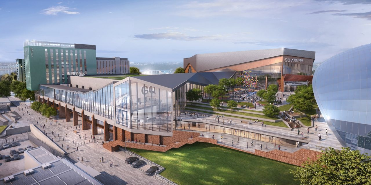 Planned £260m Gateshead Quays development could bring 2000 jobs to the region