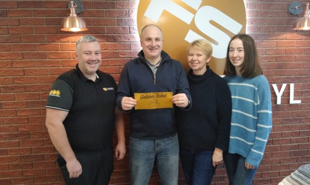 Store gives £1,000 worth of flooring to mark opening in Crewe