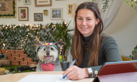 Doggy director fetches fun and learning for nursery children