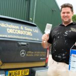 Warm weather and relaxing of restrictions gets Bishop Auckland decorator back to business
