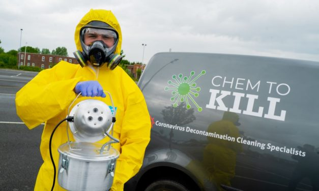 New business prepares to fight COVID in Tees Valley with unique cleaning system