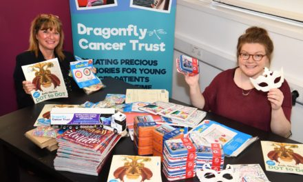 Dragonfly Trust Activity Boxes Helping Young Cancer Patients Get Creative