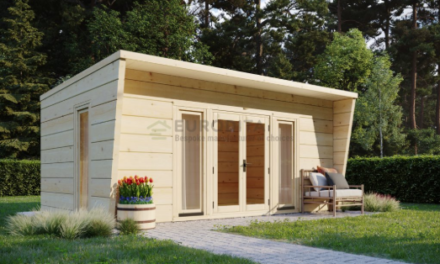 How to build a home office in your garden