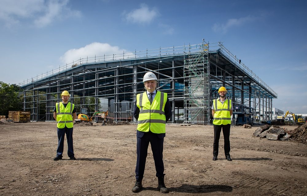 INVESTMENT IN NEW GATESHEAD ENGINEERING SITE COMPLETES KEY CONSTRUCTION PHASE