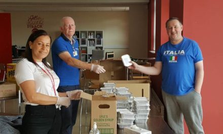 College helps feed students and their families during Covid-19 crisis