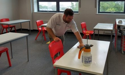 NHS standard deep cleaning service helps thousands of students safely return to 29 North East schools