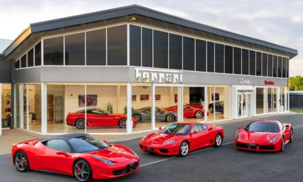 FERRARI OPENS TWO NEW OFFICIAL FERRARI SERVICE CENTRES AND FERRARI APPROVED SHOWROOMS: NEWCASTLE AND KENT