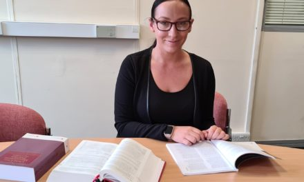 Redcar law firm welcomes new employee during lockdown