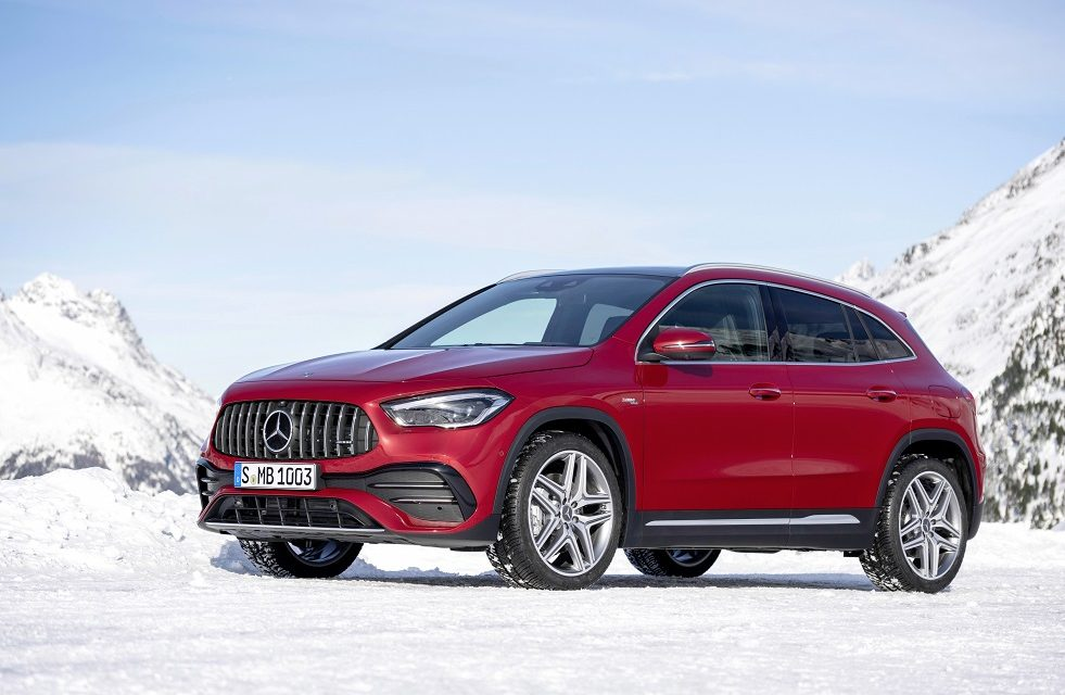 UK PRICING AND SPECIFICATION ANNOUNCED FOR MERCEDES-AMG GLA 35 4MATIC AND AMG GLA 45 S 4MATIC+