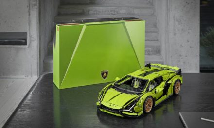 LAMBORGHINI AND LEGO RECREATE LAMBORGHINI SIÁN