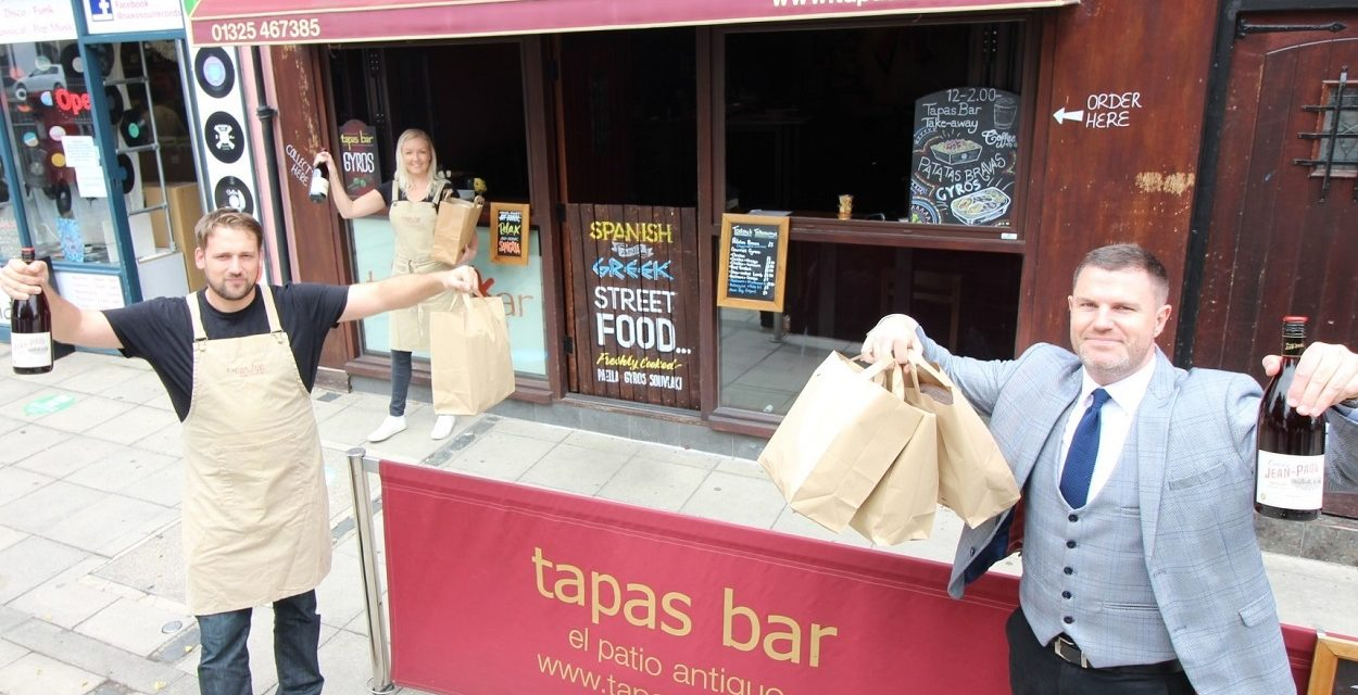 My Property Box urges businesses to support one another as it orders tapas treat for returning staff