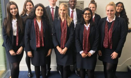 A Lord Sugar apprentice style challenge at Yarm School raises funds for charity