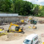 Major civil engineering feat paves way for next stage of Milburngate development