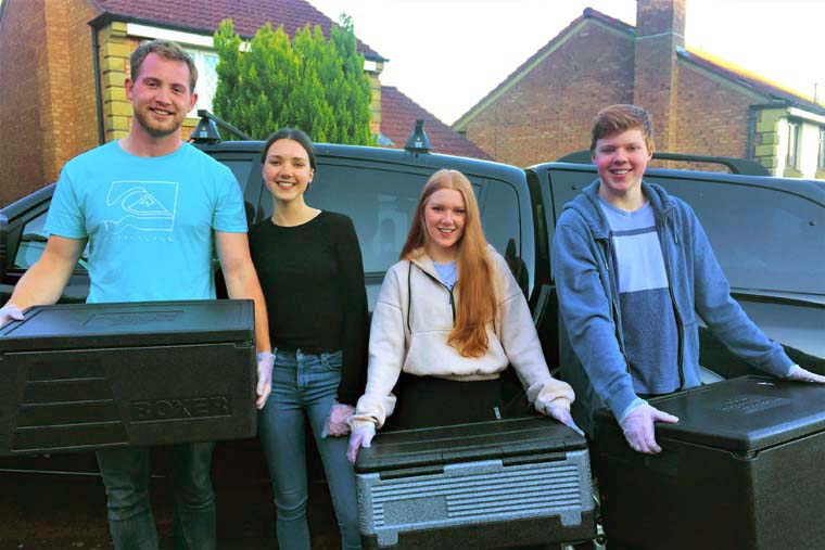 Age UK praises young volunteers for their dedication