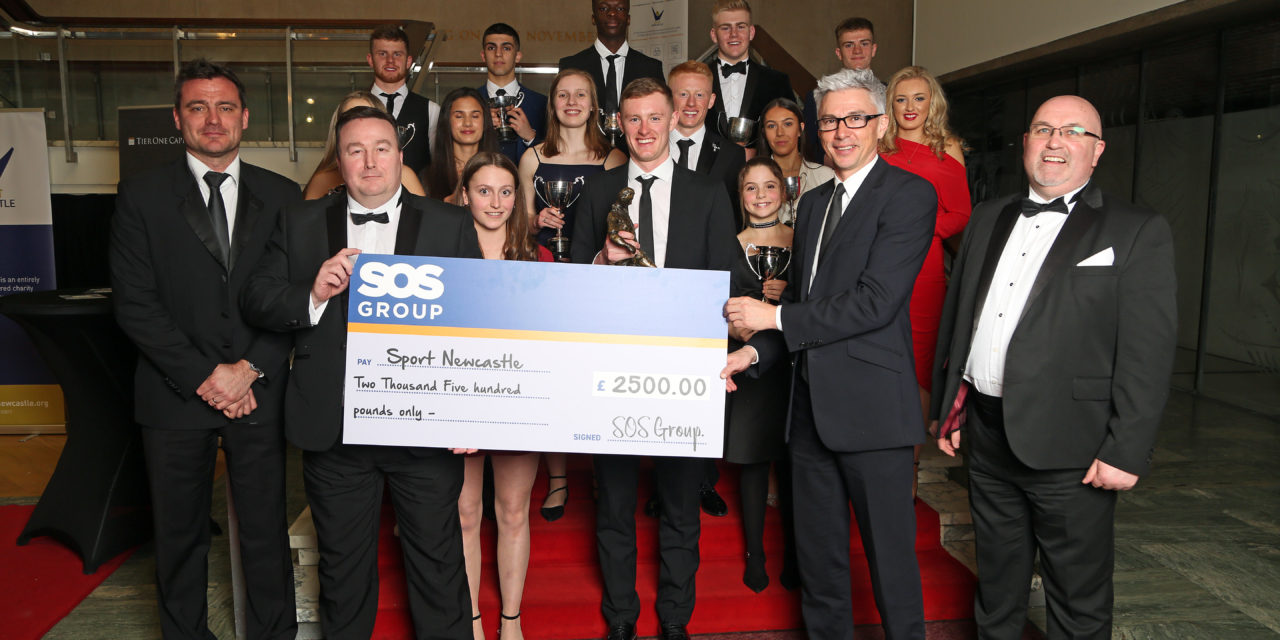 SOS GROUP REACHES £250,000 COMMUNITY SUPPORT MILESTONE