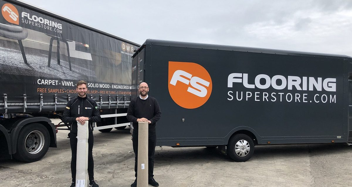 Flooring retailer makes significant donation to national charity