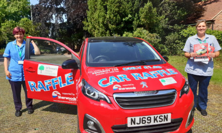 Raffle extension helps hospice drive forward ticket sales