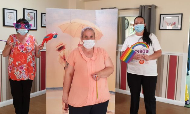 Care home's Pride Inside party to support LGBT community