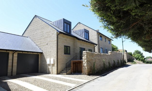 Outstanding small housing development near Hadrian's Wall reaches completion