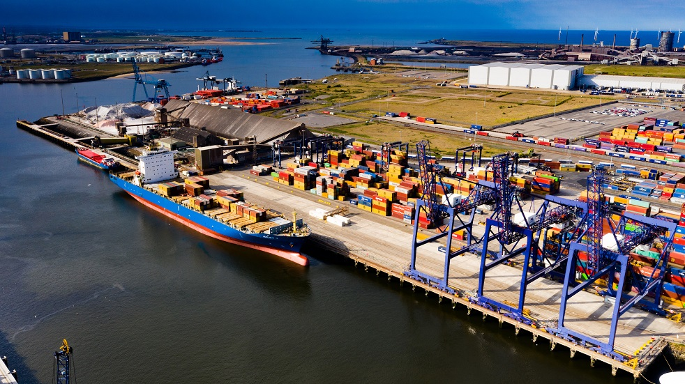 TEESPORT WELCOMES LARGEST CONTAINERSHIP