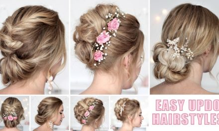 Trending DIY Bridal Hairdos at home