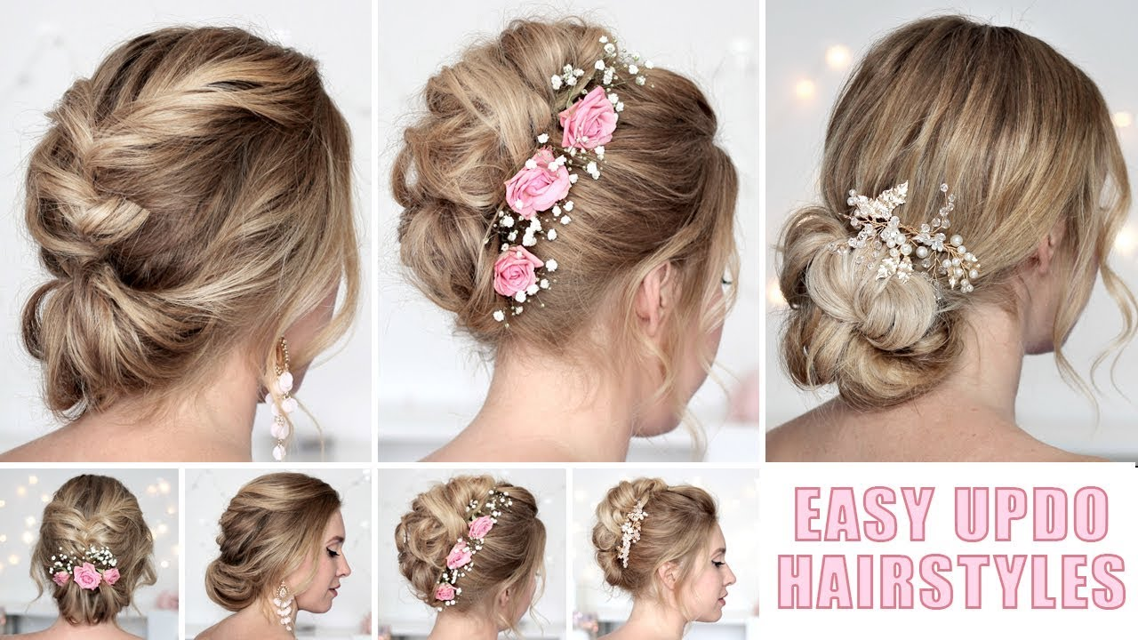 Trending DIY Bridal Hairdos at home  North East Connected