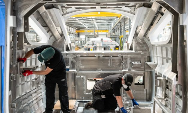 Hitachi Rail begins new phase of manufacturing at UK factory with East Coast Trains order