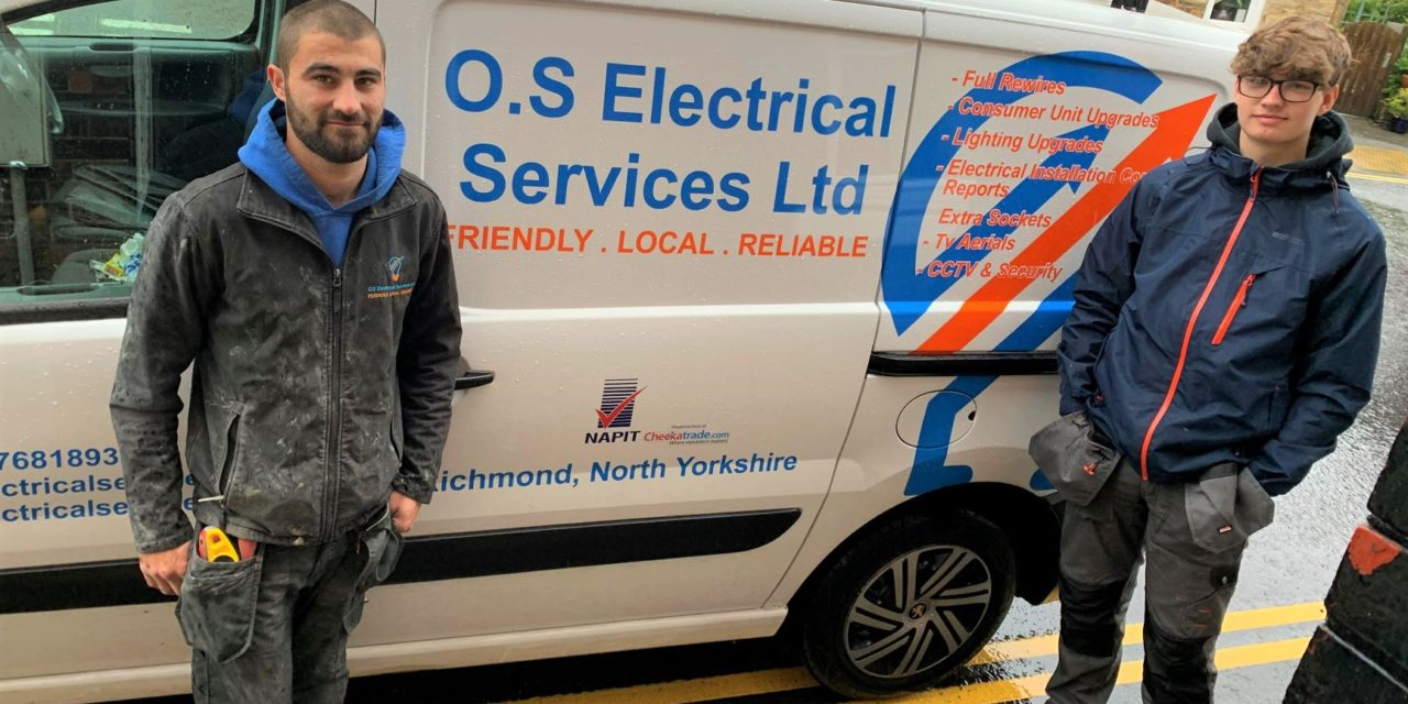 Successful students embark on apprenticeships